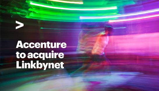 Accenture adds 900-strong Linkbynet to Cloud First division