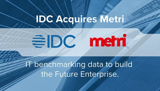 IDC acquires Dutch IT intelligence consultancy Metri